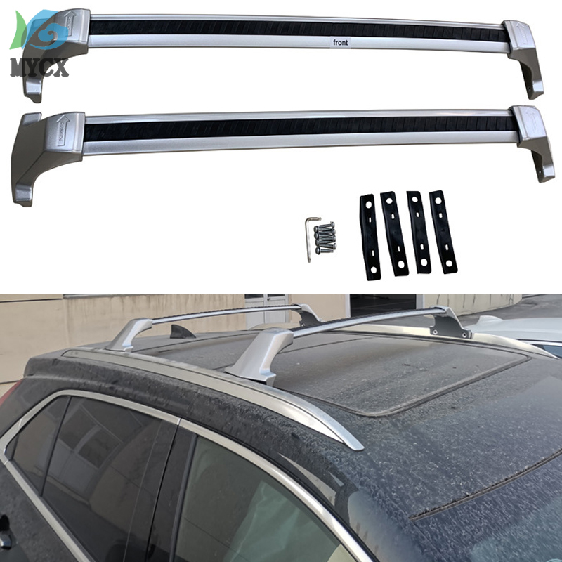 Поперечная рейка для крыши, для Cadillac XT4, алюминиевый сплав, достаточно мощный, нагрузка 120 кг, 2018, 2019