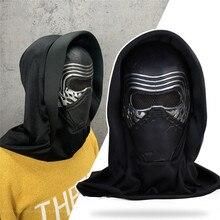 Ren-Mask Helmet Hood Kylo Cosplay Star-Wars:The-Rise Headscarf Full-Face New Skywalk