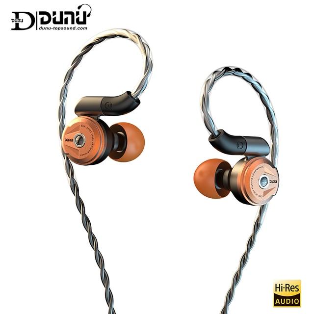 DUNU DK2001 היי Res 3BA + 1DD היברידי נהגים ב אוזן אוזניות IEM עם MMCX עצמי נעילה מהיר לשינוי תקע DK 2001 DK 2001