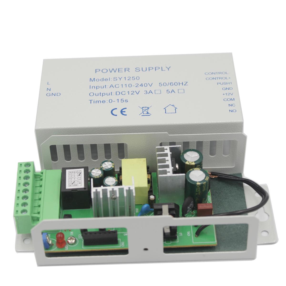 Access Control Power Supply Transformer Door Supplier Adapter Covertor System Machine DC 12V 3A 5A AC 110~240V