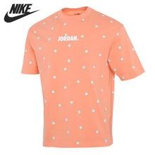Original New Arrival NIKE AS SS CTN AOP TEE Men's T-shirts short sleeve Sportswear