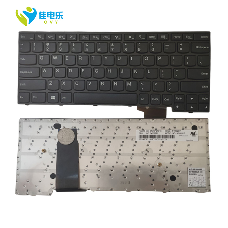 OVY US Laptop Keyboard For LENOVO FOR YOGA 11E P/N:SN20F21918