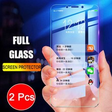 2Pcs Full Screen Tempered Glass For Xiaomi Redmi 6 6A Screen Protector 9H Anti Blu ray Tempered Glass For Redmi 6 6A glass flim