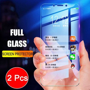 Image 1 - 2Pcs Full Screen Tempered Glass For Xiaomi Redmi 6 6A Screen Protector 9H Anti Blu ray Tempered Glass For Redmi 6 6A glass flim