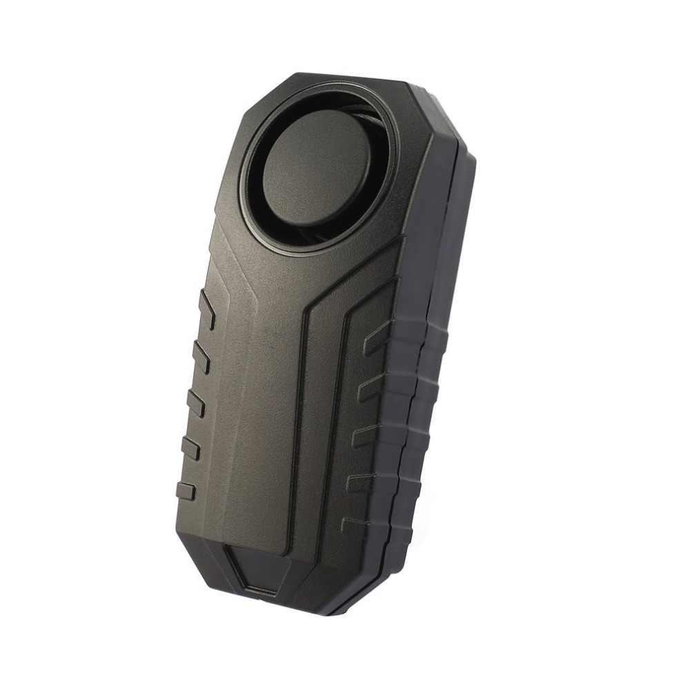 Nirkabel Sepeda Anti-Theft Alarm Tahan Air Pintu/Jendela Getaran Alarm Cerdas Remote Control Alarm Sensor 113dB Keras