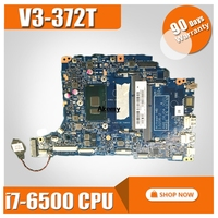 NBG7C11001 NB.G7C11.001 For Acer aspire V3 372 V3 372T Laptop Motherboard 15208 2 448.06J04.0021 SR2EZ i7 6500U CPU