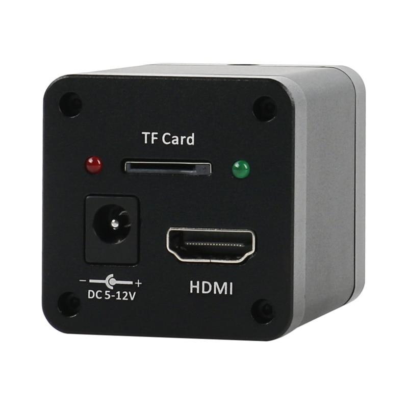 SONY imx323 10MP HD 1080P HDMI Labor Digital Industrie Video Mikroskop C mount Kamera TF Video Recorder Für Telefon PCB Löten