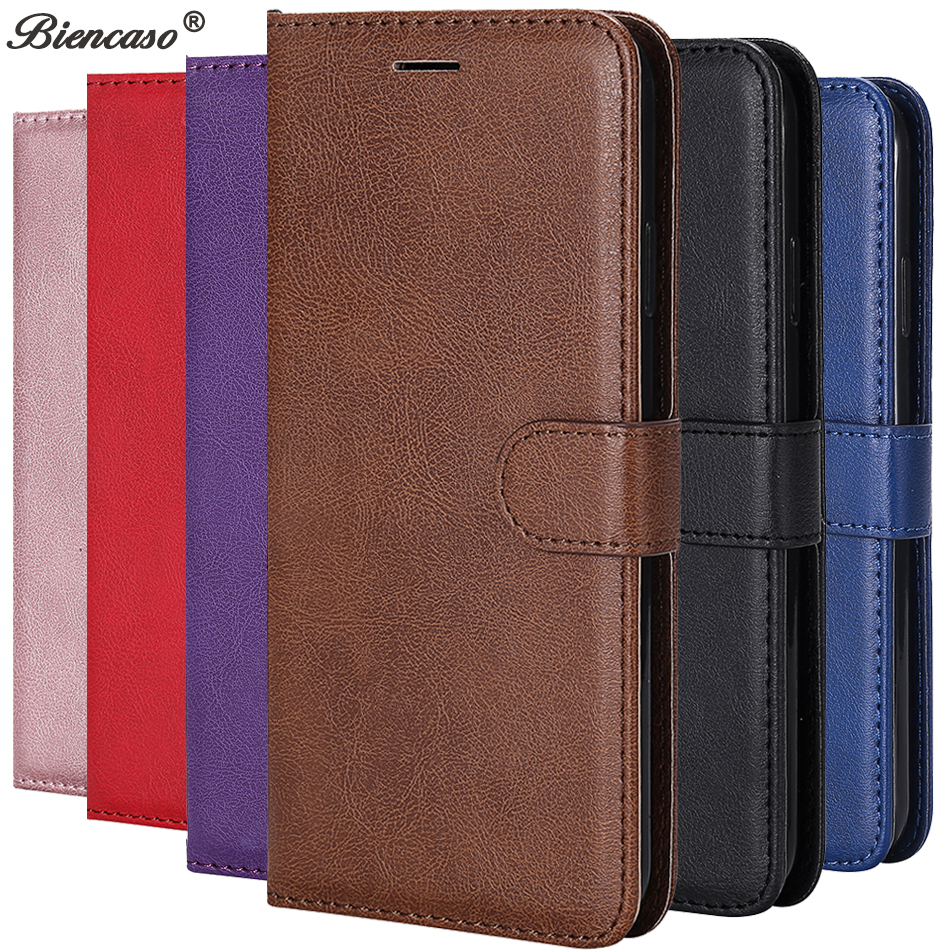 Leather Flip Case for Samsung Galaxy S20 Ultra S10e S10 S9 S8 Plus S7 Edge Note 10 9 8 A10E A20E A01 A11 M11 A21 A41 Phone Cover(China)