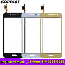 10 sztuk/partia dla Samsung Galaxy j2 Prime SM-G532F G532 G532G G532M ekran dotykowy czujnik wyświetlacz wymiana szkło Digitizer + logo
