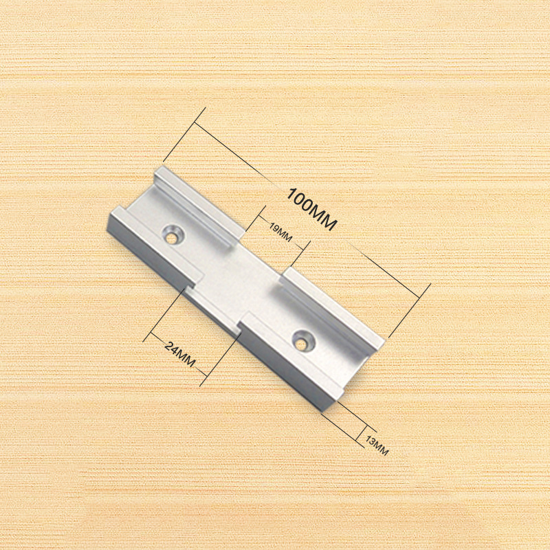 100mm T-track T-slot Miter Track Jig Fixture Woodworking Tool For Router Table
