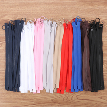 5Pcs 25cm Long Invisible Zippers DIY Nylon Coil Zipper For Sewing Clothes Accessory Pull