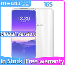 Meizu 16s In Stock 8GB 128GB Global Version Meizu16s Snapdragon 855 Cellphone 48MP Camera NFC Google Pay Big battery Fast Charge(China)
