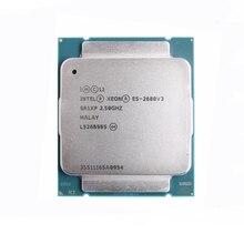 Intel Ксеон E5 2680 V3 процессор SR1XP 2,5 ГГц 12 жильная 30 Мб разъем LGA 2011-3 Процессор E5 2680V3