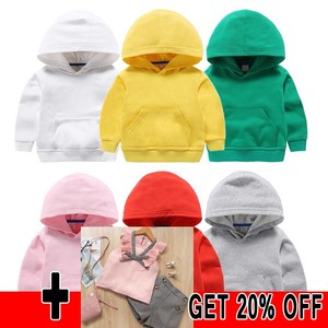 Children's Clothing 2020 Autumn New Hoodies & Sweatshirts Teen Girls Boys School Uniforms Custom Solid Color Clothes Sweater Out