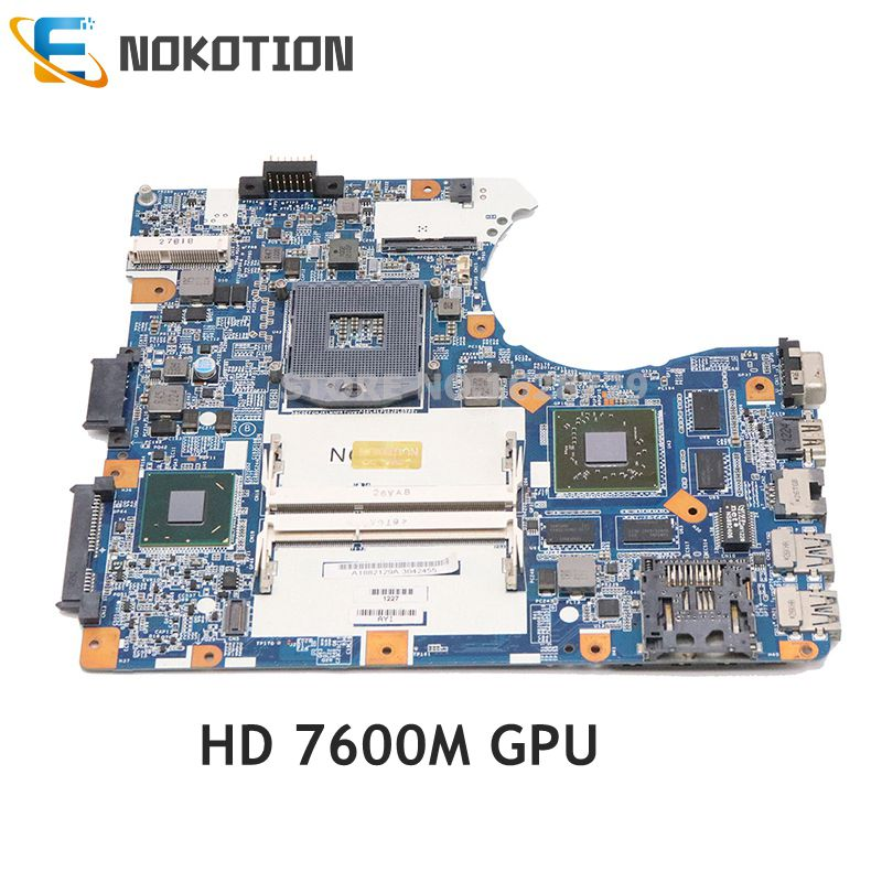 NOKOTION A1882129A MBX-273 MAIN BOARD For Sony Vaio SVE14 SVE14135YCW Laptop Motherboard DDR3 HD 7600M GPU