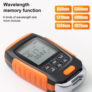 Image 2 - ONTi 4in1 Li lion Battery Optical Power Meter Visual Fault Locator Network Cable Test Optical Fiber Tester 5km 15km 30km VFL
