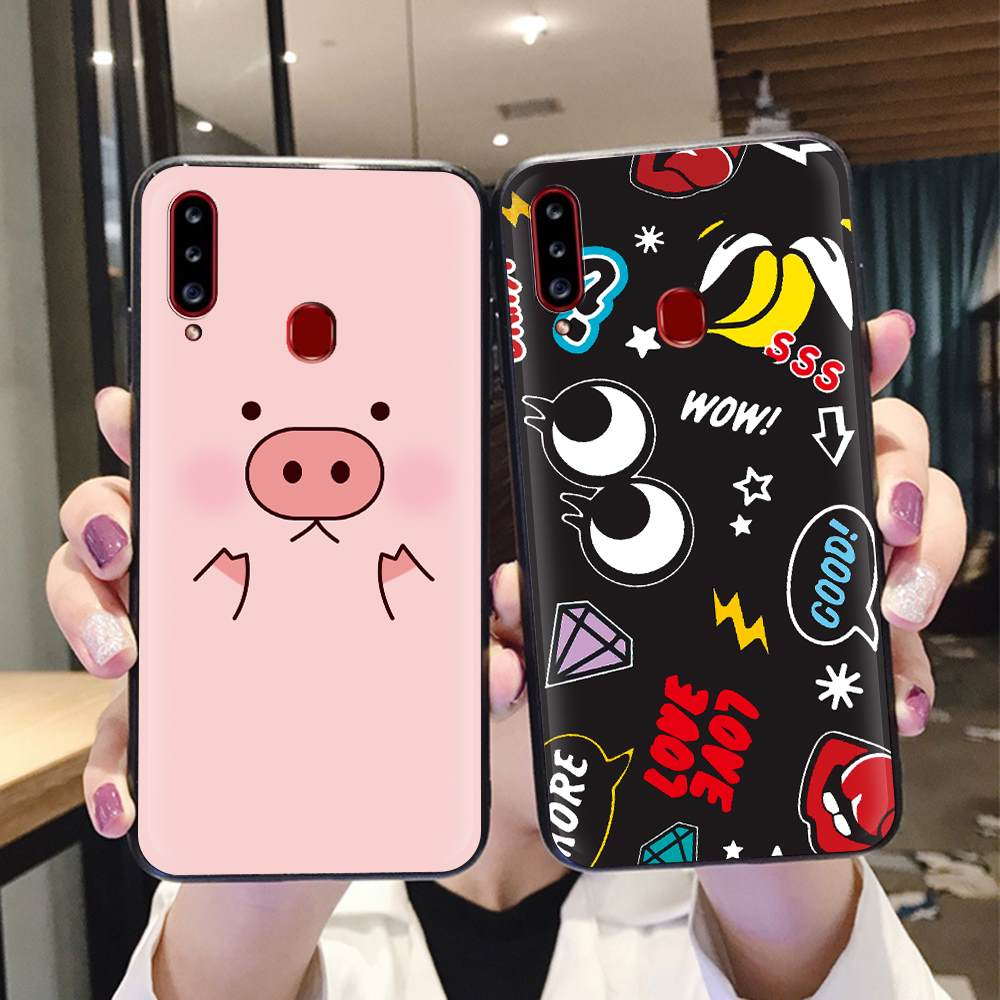 Anti-Dust Soft Phone Case For Samsung Galaxy A20S For Boy Waterproof Cover Cartoon Shockproof