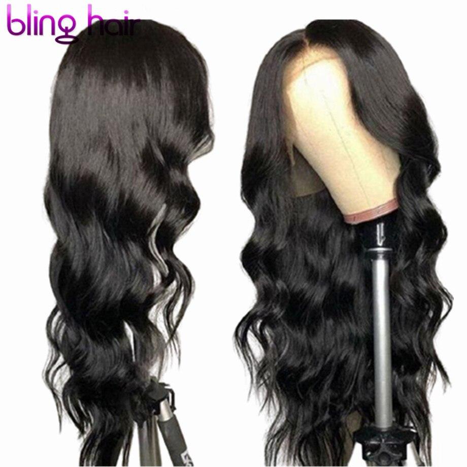 28 30 Polegada perucas do cabelo humano da parte dianteira do laço da onda do corpo pré arrancadas remy brasileiro 4x4 5x5 6x6 peruca do fechamento do laço para a mulher densidade 150%