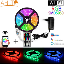 WIFI 5050 RGB DC12V 150Led Waterproof Smart Neon LED Strip With Bar Living Auto Room Backlight Light Outdoor Tv Holiday Lighting