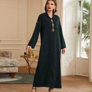 Abaya Dubai Turkey Hijab Abayas Muslim Dress Women Kaftan Caftan Marocain Islam Clothing Maxi African Dresses Djellaba Femme