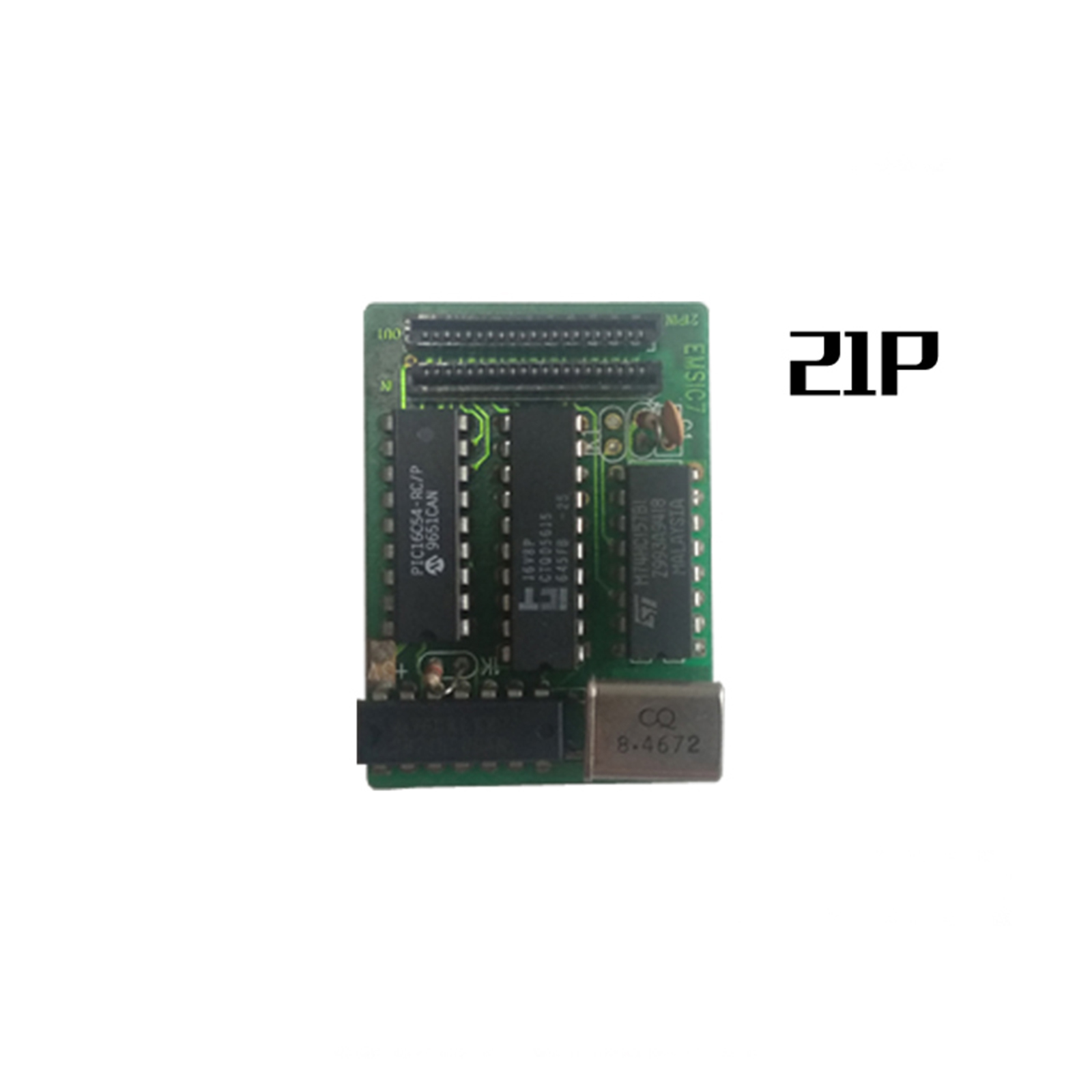 Mod Chip JVC 21P Chip Direct Reading Card With Cable For Sega Saturn SS