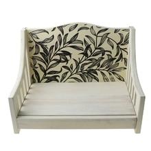 Newborn Posing Wood Bed Sofa Baby Photo Shooting Crib Infant Photograph Props