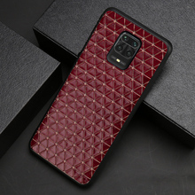 Leather Phone Case For Xiaomi Redmi Note 9S 8 7 6 K20 K30 Pro 7A Mi 9 se 9T 10 A2 A3 Mix 2s Max 3 Poco F1 X2 Triangle Texture