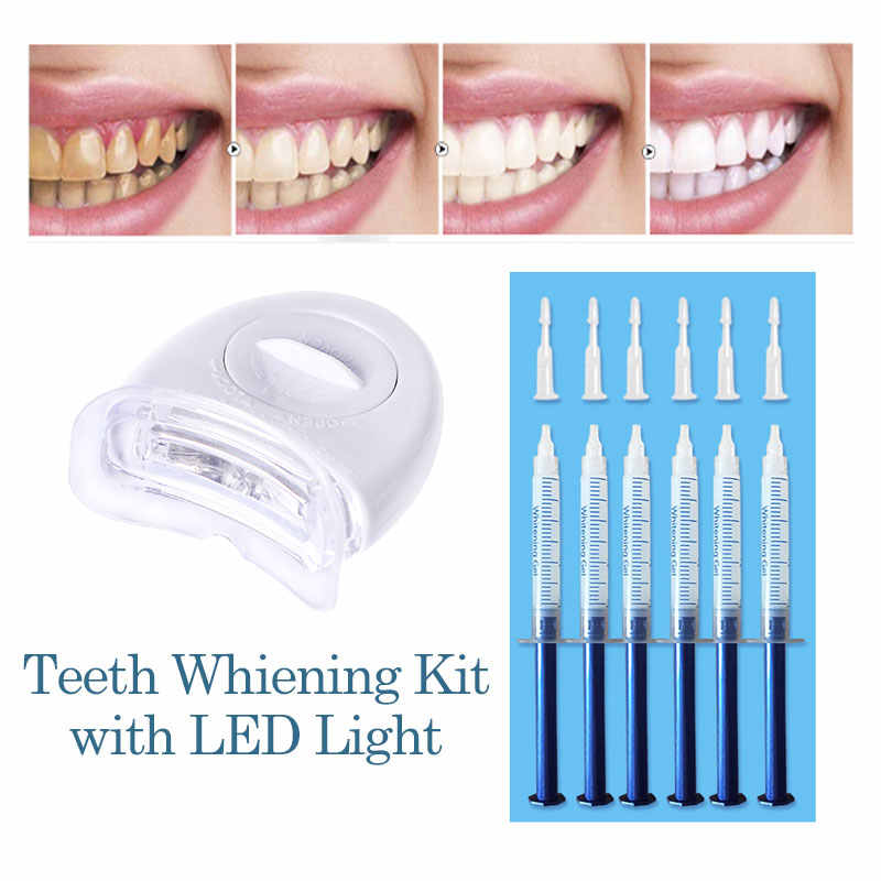 Teeth Whitening Kit 44 Peroxide Dental Bleaching System Oral Gel