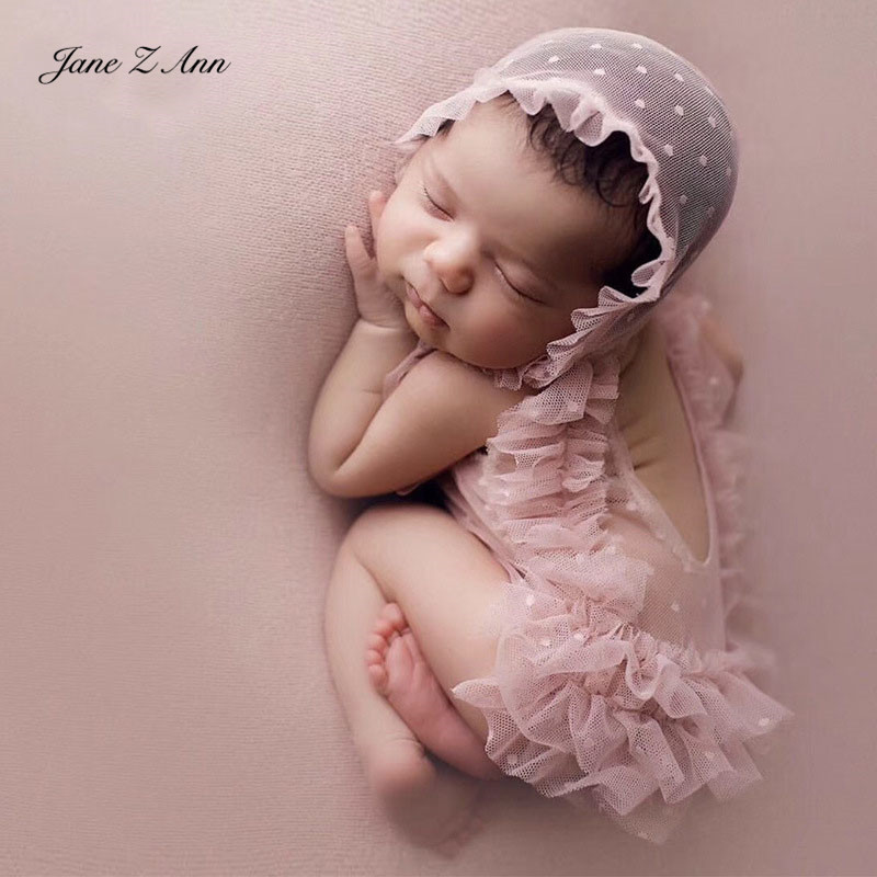 Jane Z Ann Newborn photo props clothing hat studio baby girl photography outfits studio shooting accessoriesHats & Caps   -