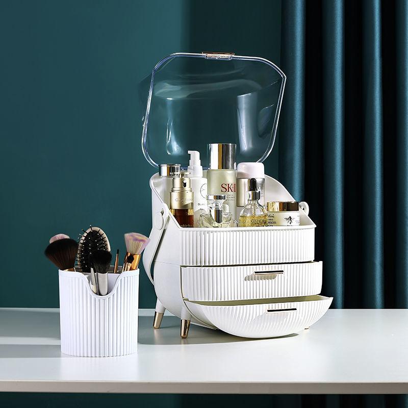 Boîte de rangement maquillage étanche