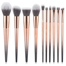 10pcs  Makeup Brush Set Eye Brush Beauty Tools Fan Powder Eyeshadow Contour Beauty Cosmetic Colorful For Make Up Tool new coastal scents 22 pieces makeup brushes make up brush set eyeshadow contour powder contour cream brush tools dhl free shipp