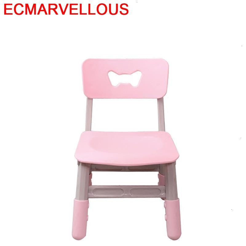 Table Sillones Infantiles Mobiliario For Silla De Estudio Adjustable Baby Kids Furniture Cadeira Infantil Children Chair