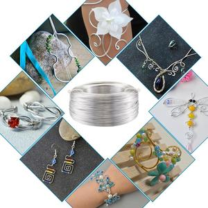 Image 5 - 500g 0.6/1.2/1.5/2.0/3.0mm Aluminum Wire DIY Jewelry Component Accessories Finding Making Necklaces Bracelets Crafts Supplies