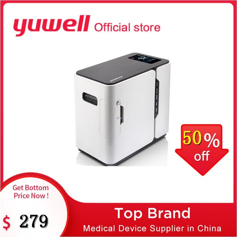 Yuwell yu300 gerador de concentrador de oxigênio ser bom para o concentrador de oxigênio do sono concentrador de oxigênio equipamento médico alta concentração