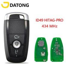 דאטונג עולם רכב שלט רחוק מפתח עבור פורד מונדיאו מוסטנג קצה היתוך M3N A2C93142600 ID49 HITAG PRO Promixity כרטיס חכם
