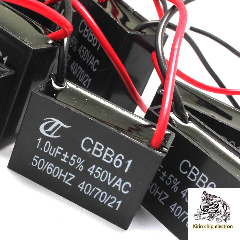8PCS/LOT CBB61 Fan Start Capacitor Pack All 8 Kinds Of 1 In A Total Of 8