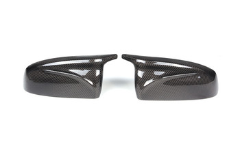 One Pair New arrived Carbon Fiber 2007-2013 X5 X6 E70 E71 Car Tuning Parts for Bmw E70 E71 Replacement Mirror Cover Cap Case image
