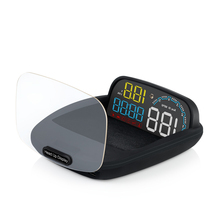 Head up display C600 OBD2 smart display speedometer temperat
