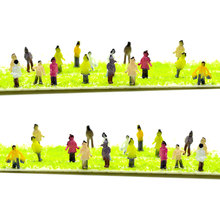 1/200 Scale Diorama Miniature Model Painted Figure 9mm Height 200pcs Model People For Mini Sand Table DIY Landscape Layout Kits no 200pcs diy rb 1