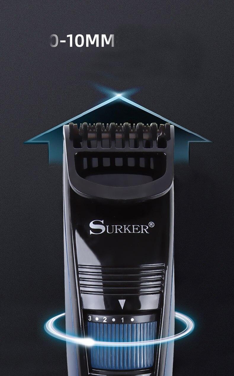 Surker elétrica aparador de cabelo SK-539 sem
