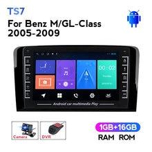 1280*720 IPS 2Din auto Radio Multimedia reproductor de vídeo para Mercedes Benz clase GL ML350 GL320 X164 2005-2009 navegación GPS WIFI