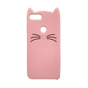 Image 4 - Honor 9 Lite Phone Case For Huawei Honor 9Lite Cover Fundas 3D Cute Pink Horse Unicorn Bear Cat Cartoon Soft Silicon Case Capa