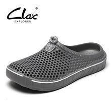 Туфли сабо для сада мужчин быстросохнущие летние пляжные тапки