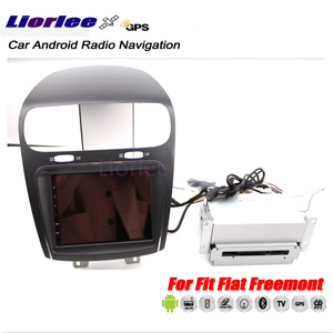 Image 3 - Auto Autoradio Multimedia Player Für Fiat Freemont 2008 2018 Android Radio GPS Player Carplay Karten Stereo Navigation System