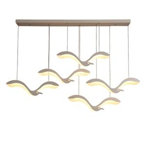 Image 5 - Creativiteit Moderne Led Hanger Kroonluchter Verlichting Voor Eetkamer Keuken Receptie Schorsing Armatuur Suspendu Led Kroonluchter
