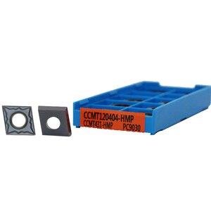 Image 2 - Outil de tournage interne en carbure de tungstène, Inserts en acier inoxydable CCMT060204 CCMT09T304 CCMT09T308 CCMT120404 CCMT120408 HMP
