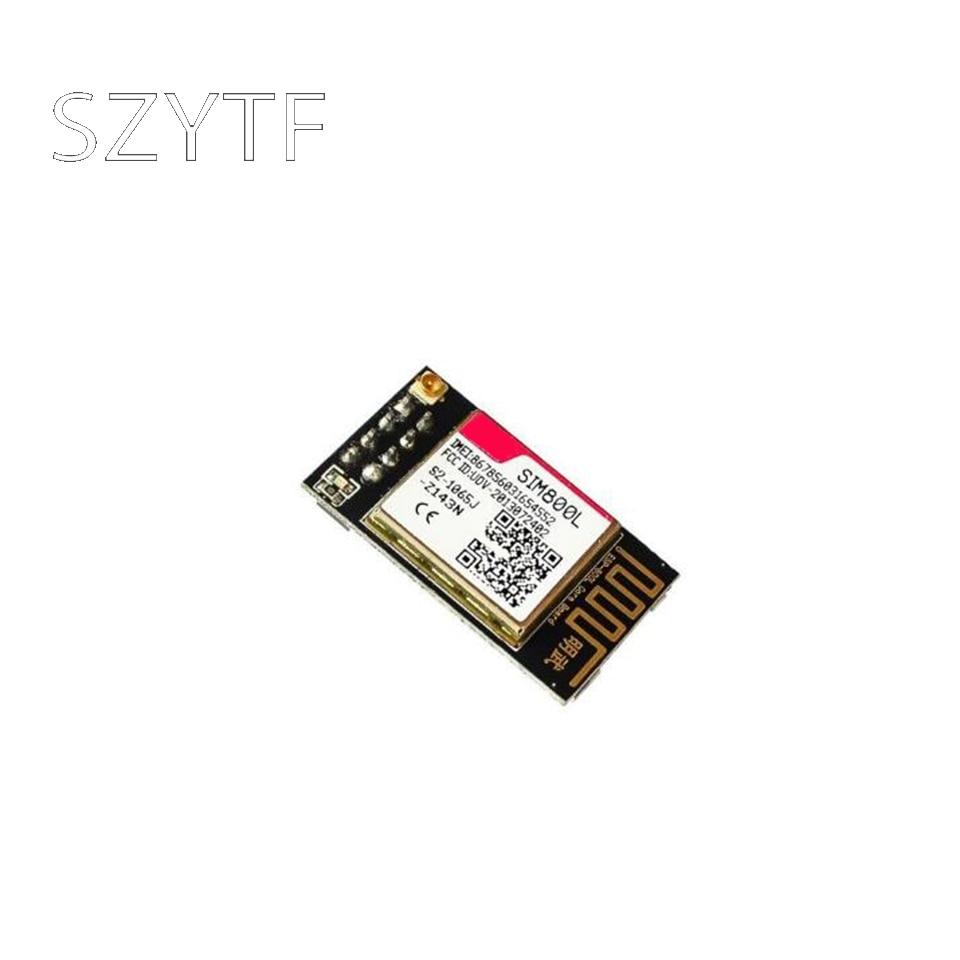 Sim800l gprs gsm módulo micro cartão sim série ttl freqüência de quatro placas de núcleo esp8266 esp32