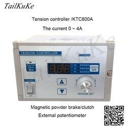Ręczny cyfrowy kontroler napięcia KTC800A magnetyczny hamulec proszkowy 4A kontroler napięcia