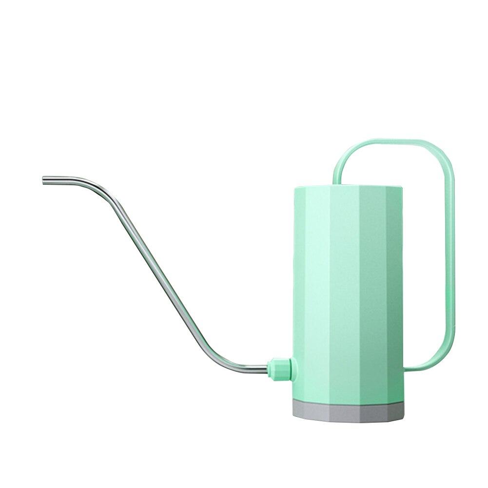 1.2l ferramentas de jardinagem cilíndricas vaso casa prático chaleira flores plástico boca longa bonsai rega planta sprinkler