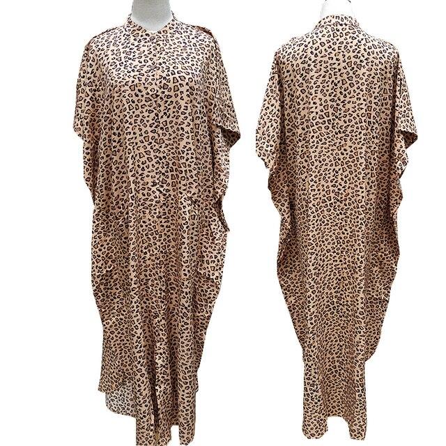 Cover-ups 2021 Kaftan Beach Print SnakeSkin Swimsuit cover up Kimono Plage Beach Robe Femme Long Dress Sarong Dress Beachwear 6
